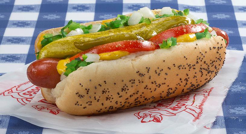 Free Hot Dogs At Portillos