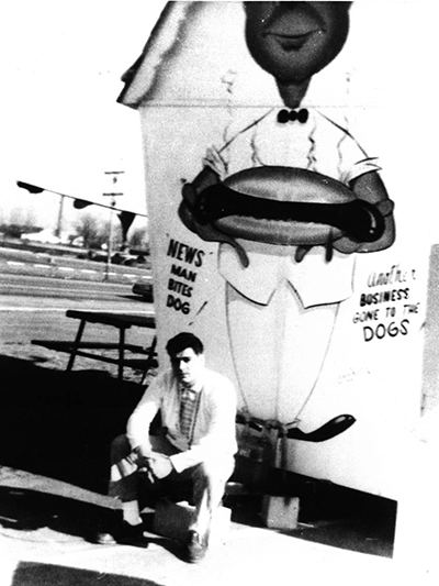 Dick Portillo and the Dog House in 1963