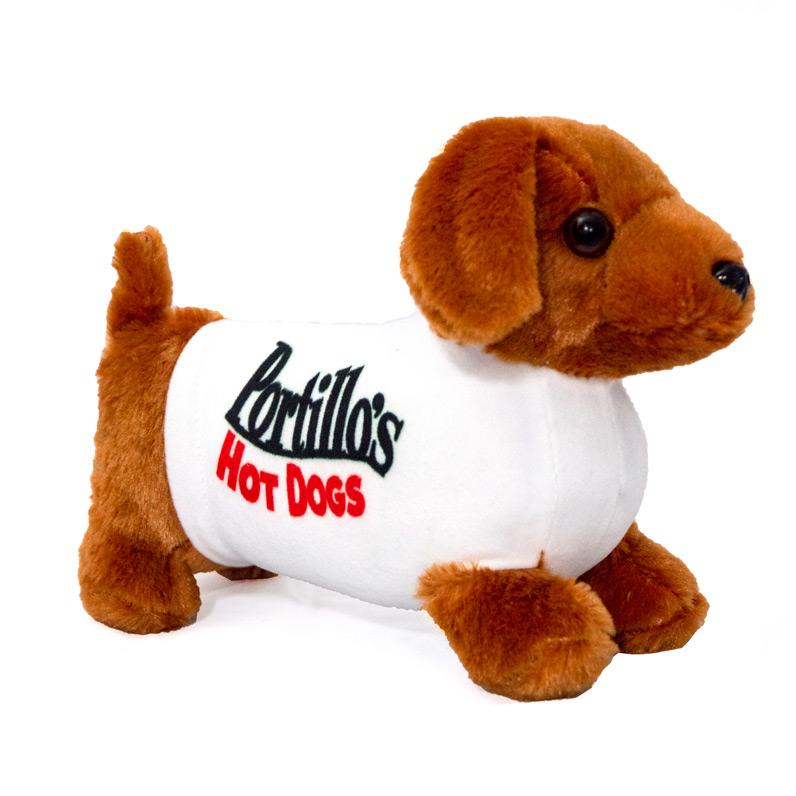 This Is Fine Dog Stuffed Animal, Pokey The Plush Dog Portillo S