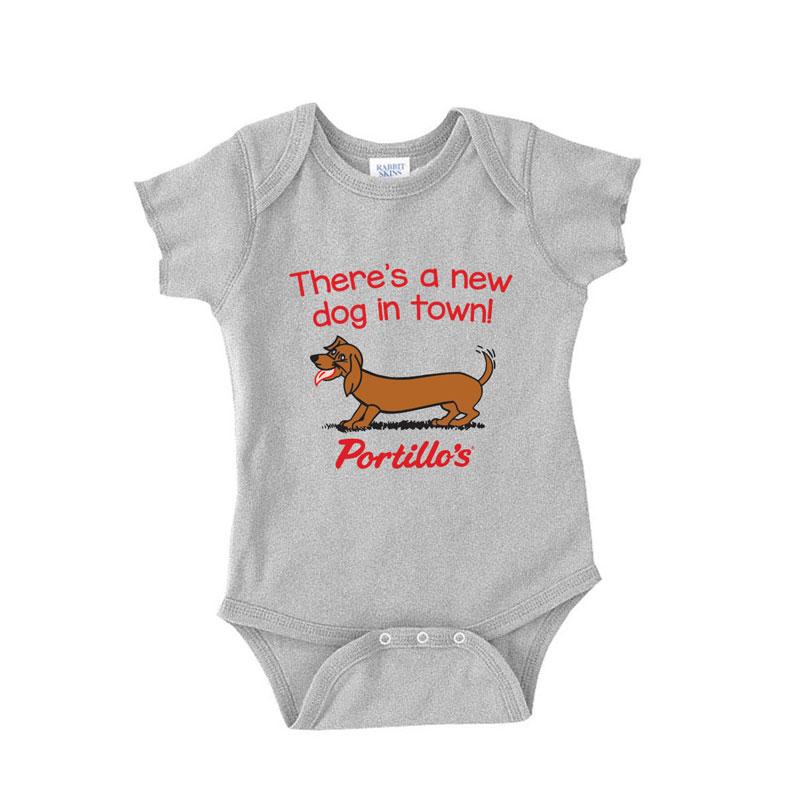 236818a11 Portillo's Baby Onesie | Portillo's