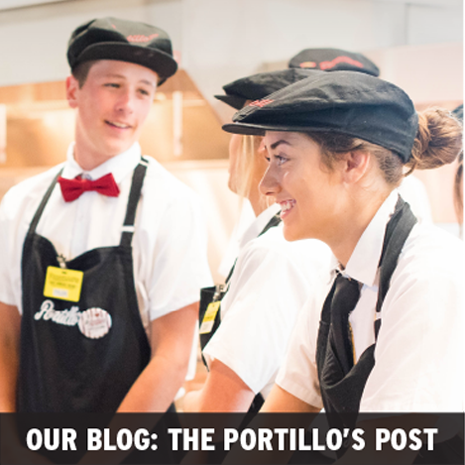 Our blog: working for Portillo's