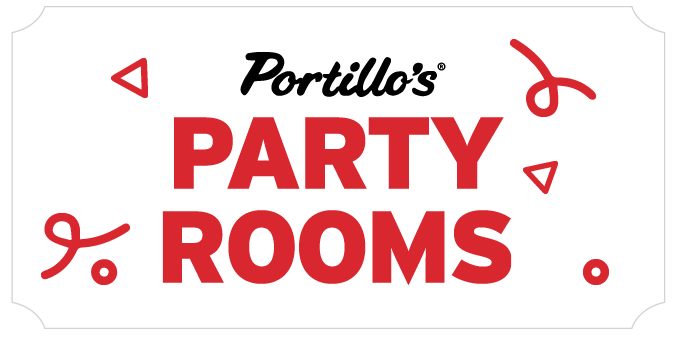 Portillo's Party Room Graphic